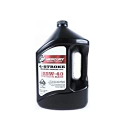 Genuine Mercury 1 Gallon 4-Cycle Oil, Syn, Mpp - 8M0078630