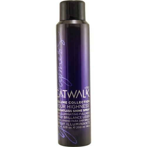 Tigi Volume Catwalk Collection (Catwalk Your Highness Weightless Shine Spray Unisex by TIGI, 5.15 Ounce)