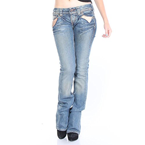1921 Denim Jeans - 1921 LS45-SAS Loose Jeans 25/34 Blue Women