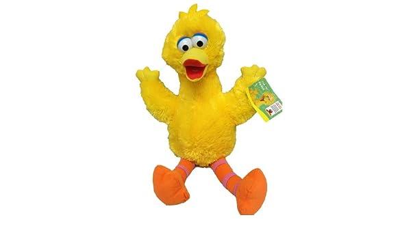 Sesame Street Big Bird - Peluche (33 cm), diseño de Paco Pico Barrio Sésamo: Amazon.es: Juguetes y juegos