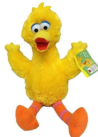 Sesame Street Big Bird - Peluche (33 cm), diseño de Paco Pico Barrio