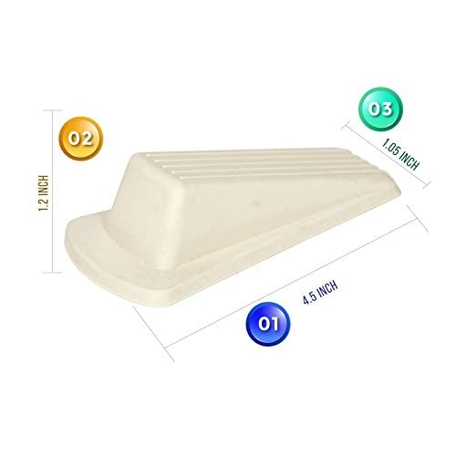 home premium door stopper heavy duty flexible rubber door stop wedge