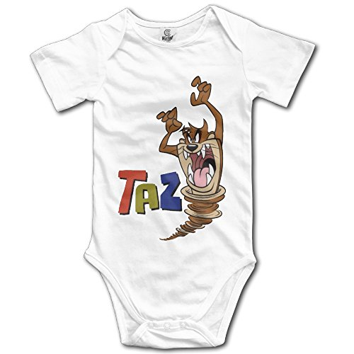 Price comparison product image Newborn Girls Wild Taz Cartoon Character Poster Baby Onesies Romper