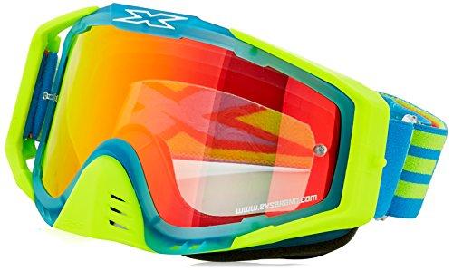 EKS S Series Masque de Motocross Mixte Adulte, Bleu