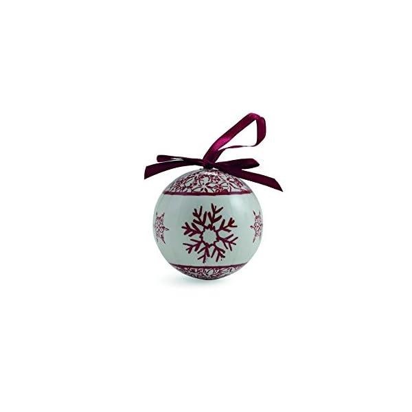 Galileo Casa Noel Set 14 Palle Decorazioni di Natale, Bianco/Rosso, 7x7x7 cm 3 spesavip