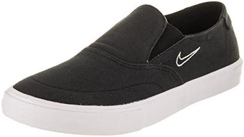 abc34f304ccb9 Nike Men s SB Portmore II SLR SLP C Black Black Light Bone Skate Shoe 10