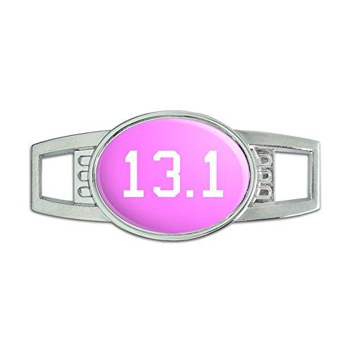 13.1 on pink - half marathon - runner - Shoe Sneaker Shoelace Charm Decoration