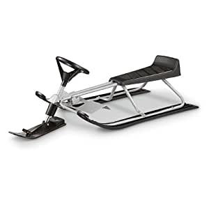 amazon com guide gear snow racer sled sports outdoors