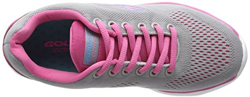 Gola Nebula, Zapatillas de running Mujer Gris (gris/rosa)
