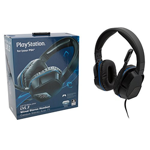 41CnlyibAEL - PDP Sony Afterglow LVL 3 Stereo Gaming Headset 051-032, Black