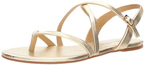 Gold Soft Sandals (Splendid Women's Brett Sandal, Gold, 9 Medium US)
