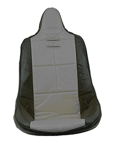 Dune Buggy Seats (Empi 62-2353 Grey Vinyl High Back Poly Seat Cover. Dune Buggy Vw Baja Bug, Each)