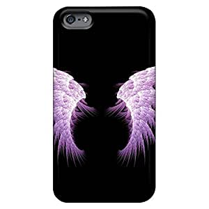 Compatible mobile phone back case Back Covers Snap On Cases For Iphone High iPhone 6 plus 5.5 - angel wings