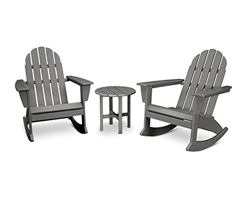 Piece Adirondack Set (Slate Grey) ()