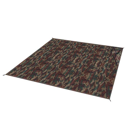 dable Pocket Size Beach Blanket Rug Waterproof Outdoor (150x150cm, Army Green Camouflage) ()