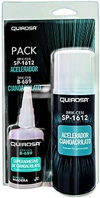 Quiadsa 53302037 Adhesivo de Cianocrilato, 50 g: Amazon.es ...