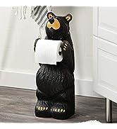 BLACK FOREST DECOR Little Bear Toilet Paper Holder