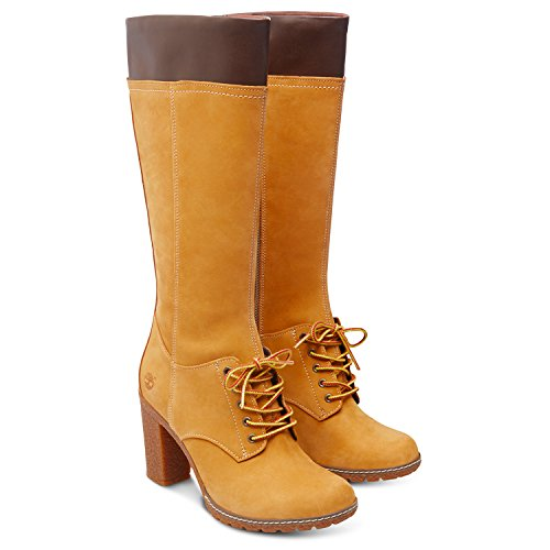 Lace Timberland bottines Tall Glancy Bottes Marron qwUFRzwTI
