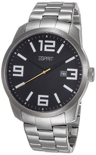Esprit ES103842005 - Men's Wristwatch, Stainless Steel, color: Silver