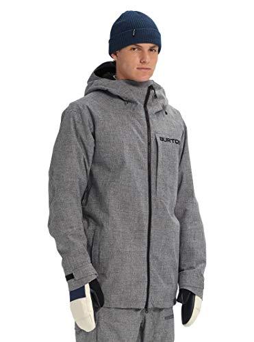 Burton Men's Gore-tex Radial Jacket Slim,  Bog Heather,  Large (Snowboard Jackets Men Burton)