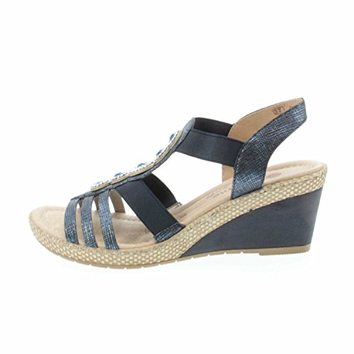 REMONTE Remonte Womens Shoe D0459-14 Blue 42