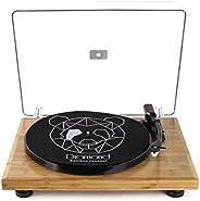 Vitrola Toca Discos Diamond - Bamboo Collection - Agulha Japonesa com software de gravação para MP3
