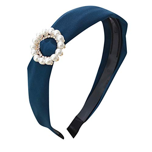 Headbands,Landscap Women Candy-Colored Ring With Diamonds Handmade Vintage Jewelry for Girl Hair Accessories (Multicolor,onesize)