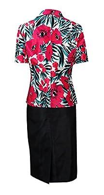 Le Suit Womens The Hamptons Shantung 2PC Skirt Suit