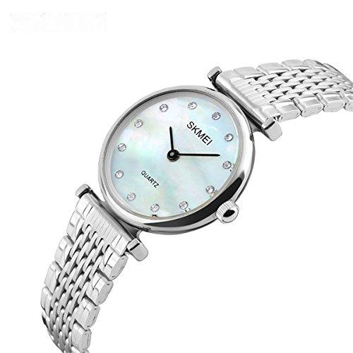 Women's Rhinestones Quartz Watch Waterproof Stainless Steel New Design Casual Luxury Simple (New Watch Design)