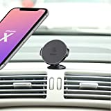 Magnetic Phone Car Mount, Baseus Dashboard Cell Phone Holder for Car Compact for iPhone X / 8 Plus / 7 7 Plus / 6 6S / 5 5S / SE, Samsung Galaxy S8 Plus / S7 / S6 Edge Plus, Pixel 2 (Black)