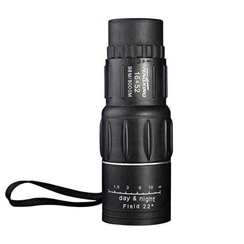 16x 52Dual Focus Télescope monoculaire 16x Zoom Jumelles 66m/8000m HD Scope