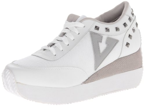 Volatile Kicks Women's Cody Fashion Sneaker,White,9 B(M)US