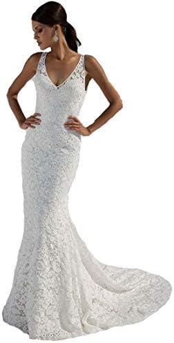 SIQINZHENG Womens Wedding Dresses Mermaid