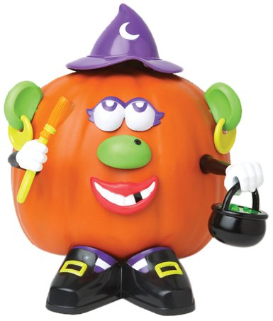Paper Magic Group Mrs. Potato Head Witch Pumpkin Push-in -