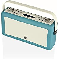VQ VQ-HEPMKII-TL/US Home Audio Radio, Teal