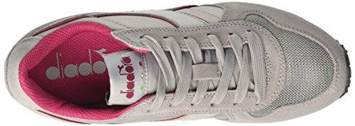 Diadora W Grey Zapatillas Run Gris para Ash Mujer Violet K fqHrw6Exf