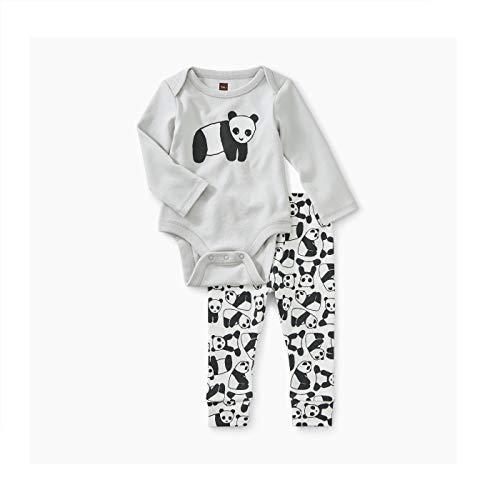 - Tea Collection Bodysuit Baby Outfit, 3-6 Months, Lunar Rock