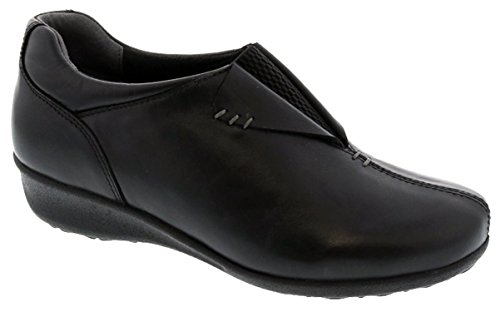 Drew Shoes Naples Women's Therapeutic Diabetic Extra Depth Shoe: Black 9.0 X-Wide (2E) Slip-On by Drew Shoe