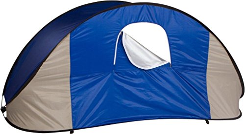 7u0027 Portable Pop-Up Wind u0026 Sun Shelter Tent Canopy with Carry Bag by Trademark Innovations  sc 1 st  Hiking Gear Store & Portable Pop-Up Wind u0026 Sun Shelter Tent Canopy with Carry Bag by ...