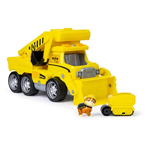 Paw Patrol, Ultimate Rescue Construction Truck with Lights, Sound & Mini Vehicle, for Ages 3 & Up]()