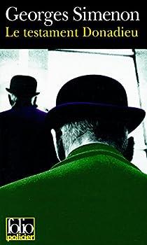 Le Testament Donadieu par Simenon