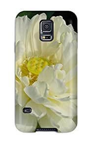 Series Skin Case Cover For Galaxy S5(white Flowers)