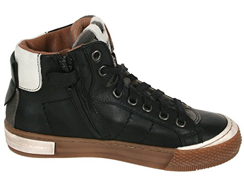 garçon pour Schwarz Baskets Black 81908 Momino qH6U4