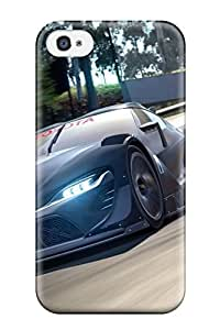 Iphone Cover Case - 2014 Toyota Ft 1 Vision Gt3 Wide Protective Case Compatibel With Iphone 4/4s