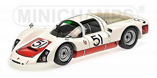 (Porsche 906E #51 Gerhard Mitter and Jochen Rindt Porsche of Stuttgart Daytona 24 Hours 1967 Limited Edition to 200 pieces Worldwide 1/18 Diecast Model Car by Minichamps)