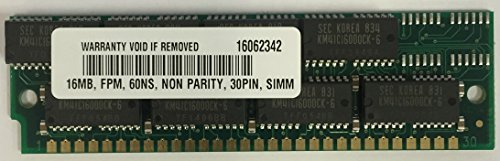 Simm 30 Pin Computer Memory - 16MB 30 PIN SIMM for Apple Macintosh IIvx 8/230
