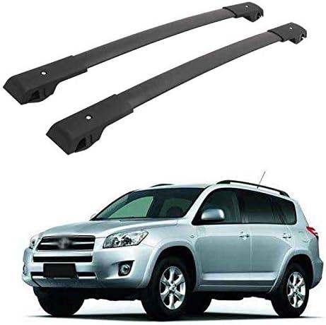 HEKA Cross Bars Roof Racks fit for 2005-2012 Toyota RAV4,Luggage Crossbars Cargo Bag Carrier Aluminum Rooftop Set Carrying Kayak Bike Canoe