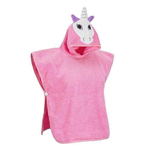 Softest Quick Dry Hooded Kids Unicorn Towel for Toddler - 5T - 100% Cotton Gently Snuggles Kids Dry. Get The Baby Shower Gift Moms Love by Hudz Kidz by Hudz Kidz