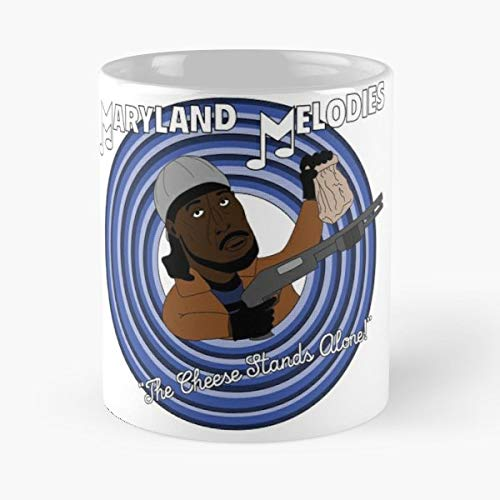 (Omar The Wire Maryland Melodies - White -coffee Mug- Unique Birthday Gift-the Best Gift For Holidays- 11 Oz. )