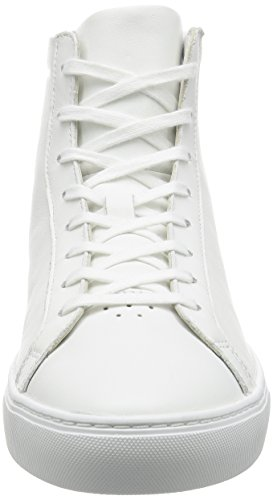 Lacoste L.12.12 Mid 316 1 Cam Wht, Bajos para Hombre Blanco (Wht)